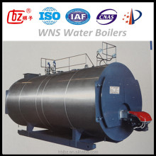 Horizontal 2 Ton oil and gas hot water boilers for hotel