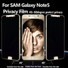 Hot sale LCD screen privacy filter for Samsung galaxy note 5