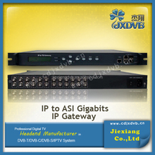 Hot selling IP receiver IP TO TS gateway made in china