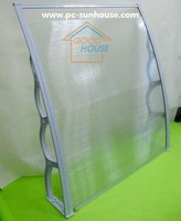 1500 * 1200 Polycarbonate awning PC canopy