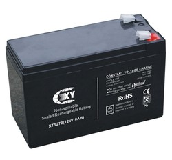 12V 7AH sealed lead acid battery for Electrical fire monitor