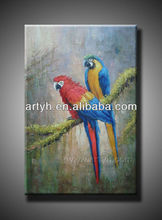 classical parrot art with the new design