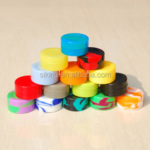wax oil silicone container/silicone jars dab wax container/silicone containers small