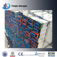 high quality rectangular galvanized pipe used