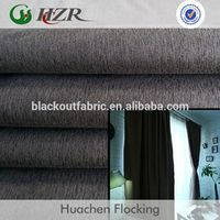 Strong waterproof and anti fouling ability blackout curtain fabric