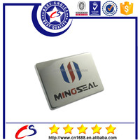 Custom design square shaped metal name badge