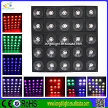 LED matrix background effect light 25*30w rgb tri 3in1 leds.high power &brightness