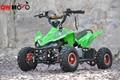 Ce 49cc quad ATV 49cc Mini quad para los niños con fácil aleación tirón está comenzando