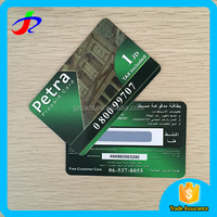 rechargeable telecom scratch cards printing