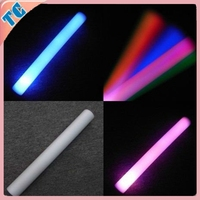 Concert Customize LED Foam Glow Stick&Rainbow Color Foam Tube With LED Lighting&Colorful LED Foam Stick for Party