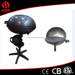 2000W electrical barbeque grill stands outdoor party bbq