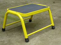 domestic steel ladder step ladder stool with EN131 certificate with various color