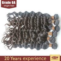 Unprocessed Original Virgin Malaysian Deep Wave The Bump Hair Weave