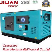 20kva 25kva 26kva tri-phase power water cooled generator diesel engines brushless alternator with auto start
