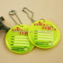 2015 Most Popular Best-selling Promotion Customized Reflective Keychain