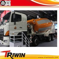 discount price sale new HINO Diesel 371hp 6x4 Euro 2 Euro 3 Euro 4 10 CBM volume of a concrete truck