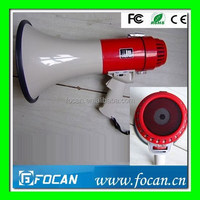 Megaphone with music, CE Certified 15W 15Watts Hand Portable Megaphone