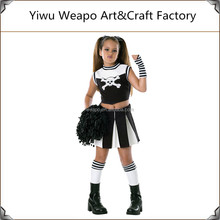 High quality wholesale kids party costume cheerleader