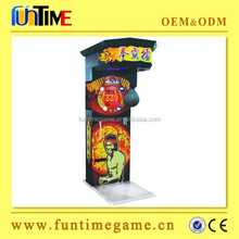 Bruce Lee boxing arcade games machine with high quality