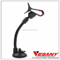Vesany most popular long neck soft pipe universal gooseneck car cell phone holder