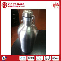64oz Double Wall Vacuum Insulated Stainless Steel Growler