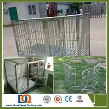 Luxury metal pet cage metal dog crate wholesale(factory)