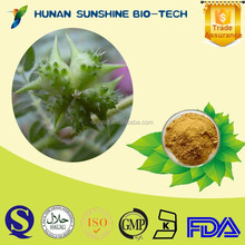 wholesale 100% natural Saponins Tribulus Terrestris Extract /90% Saponins with Tranquilize and ease pain function