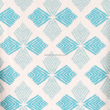 High Quality Floral Printing Linen Cotton Modern Fabric Corner Sofa