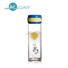 500ml borosilicate glass water bottles/kettles/pots handmade glassware N6425