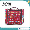 promotional ladies polyester hanging toiletry travel bag