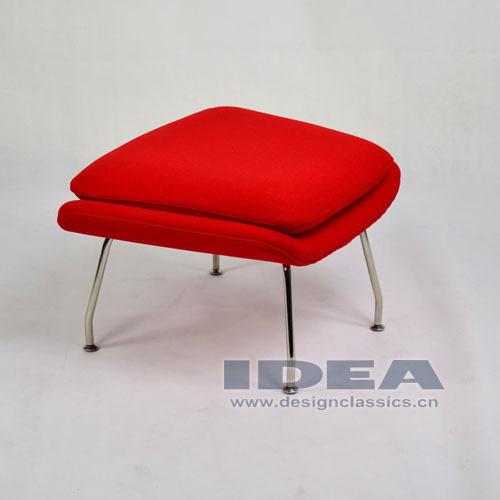 Replica eero saarinen womb chair and ottoman red wool fabric buy eero saarinen womb chair - Saarinen womb chair replica ...