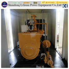 power electric pipeline gas plant small gas 250kva natural gas generator