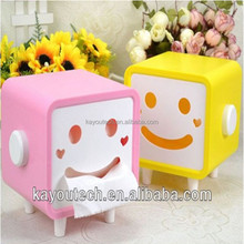 Professional OEM two color tissue box ,plastic two color injection mold factory