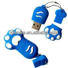 16GB Novelty Cartoon Cute Blue Cat/Bear Paws USB Flash Key Pen Drive Memory Stick Gift,1 tb usb flash drive
