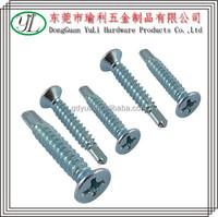 china market in dubai 8.8 grade flat head self tapping screw