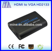 2015 newest design best selling Hdmi to vga/Manufacture Price Factory price Hdmi to vga