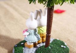 Creative perfume gift set garden gnome planter sample birthday gift , beauty gift