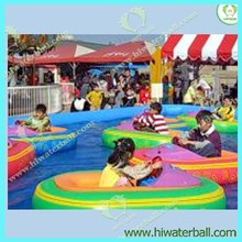 HI CE inflatable kids bumper boat/children electric bumper boat for sale