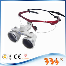 china manufacturer loupe glasses flip up with led ceiling light