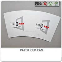 BLY-F97 china disposable tea cup fan for paper cups