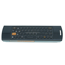 F10 Deluxe Fly Air Mouse Wireless Keyboard mouse Remote Control 2.4GHz 6 Axial Gyro Game IR Learning Function