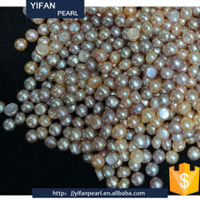 YF-10250 natural freshwater pearls loose pearls for sale Rice Shape Cultured Loose Pearl Strand