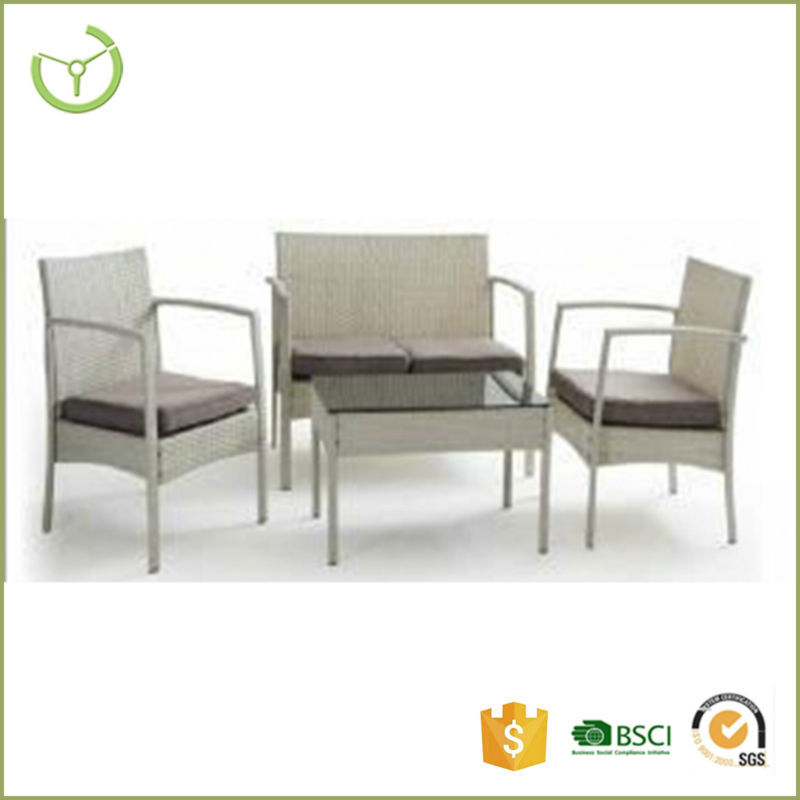 Classic cheap high quality steel pe rattan cushion for Cheap high quality furniture