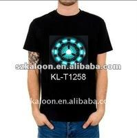 EL shirt equalizer led t-shirt