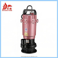 Wholesale WQD water pump powerful electric sewage water submersible pumps