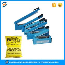 WS PFS-100 Plastic handy plastic bag sealer, aluminum bag sealer, hand impluse sealer