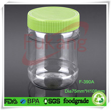 Clear Plastic Jars and Lids Food Grade, Wholesale Salsa Jars in Alibaba China