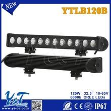 Y&T YTLB120B led lights bar in trailers led work light bar Motorcycle led headlight bar