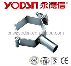 Sanitary stainless steel pipe holder (Petiole round tube)(ISO9001:2008,CE certificate)