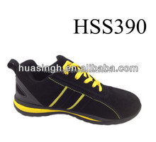 comfort and breathable Europe salable safety trainers/sneakers and running shoes
